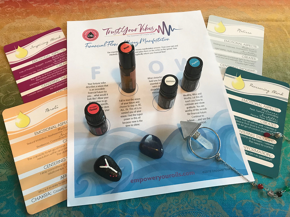 Kelli's Financial Flow Essential Oil Oracle Reading