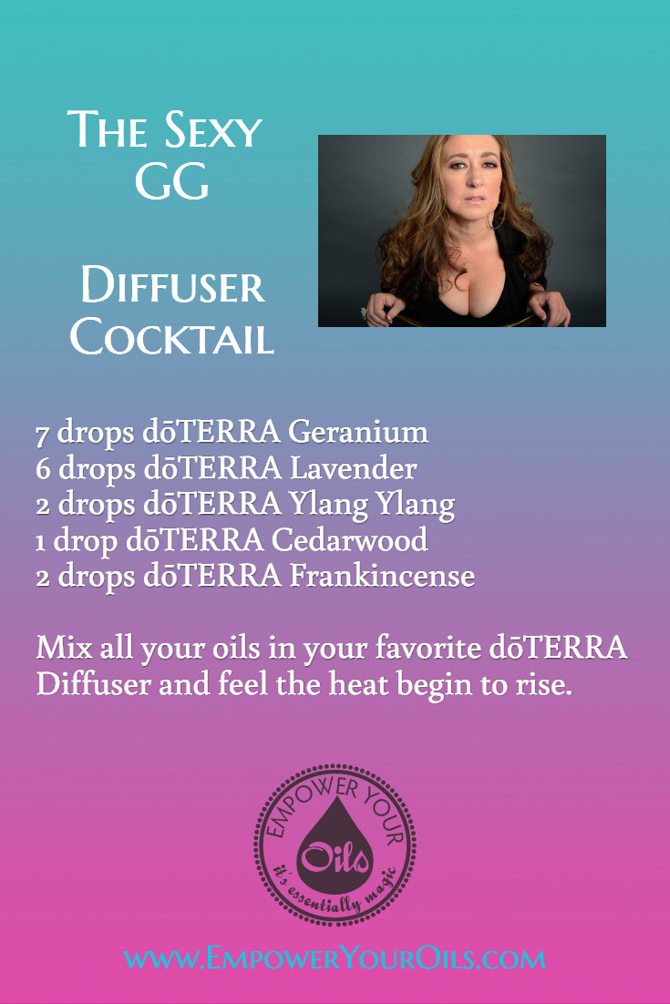The Sexy GG Diffuser Blend