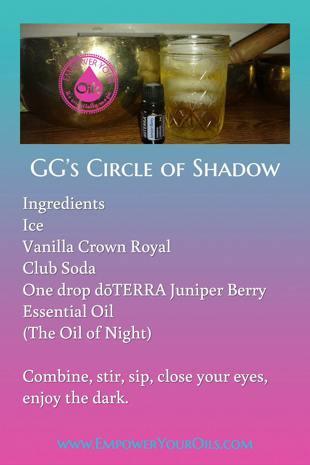 GG's Circle of Shadow Cocktail