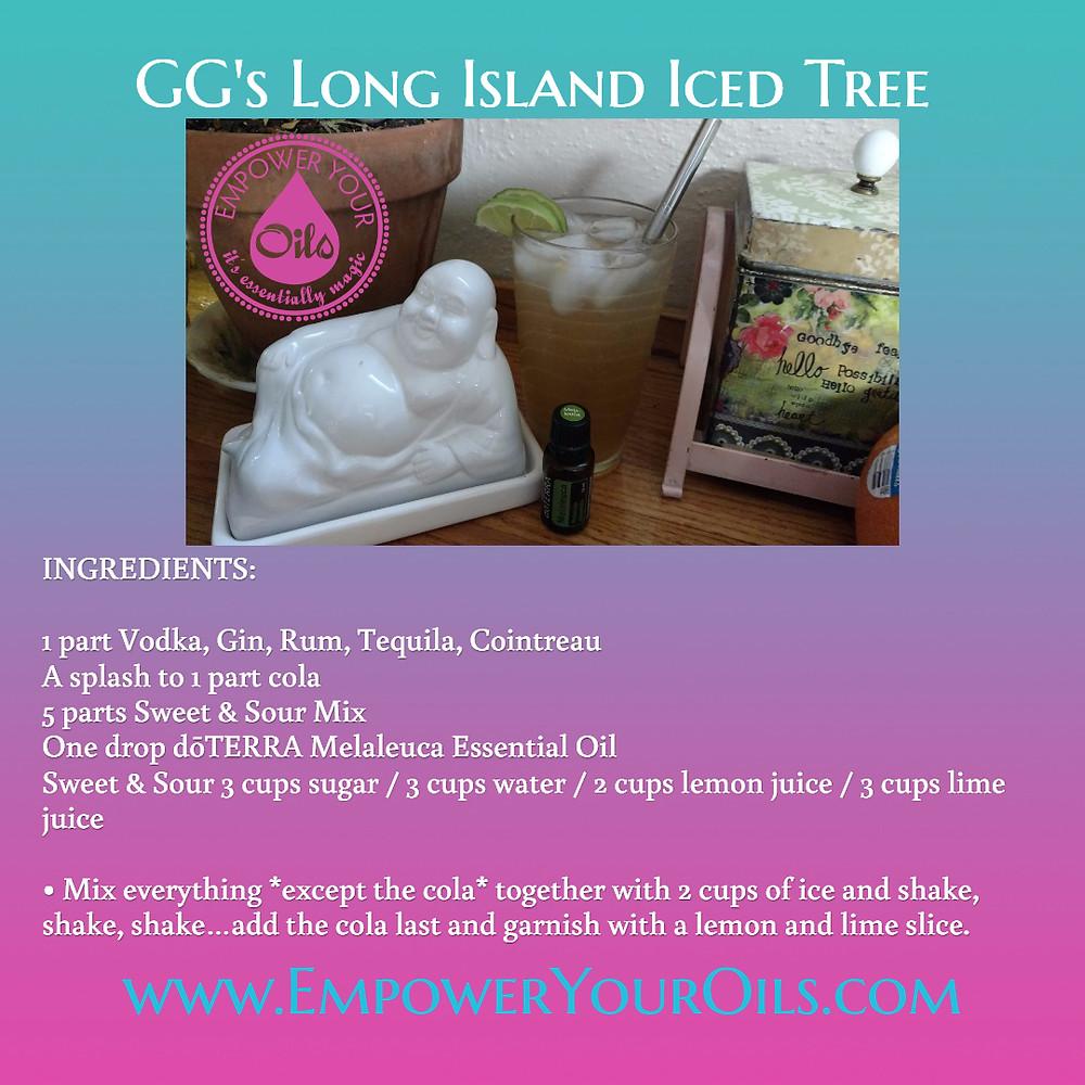 GG's Long Island Iced Tree