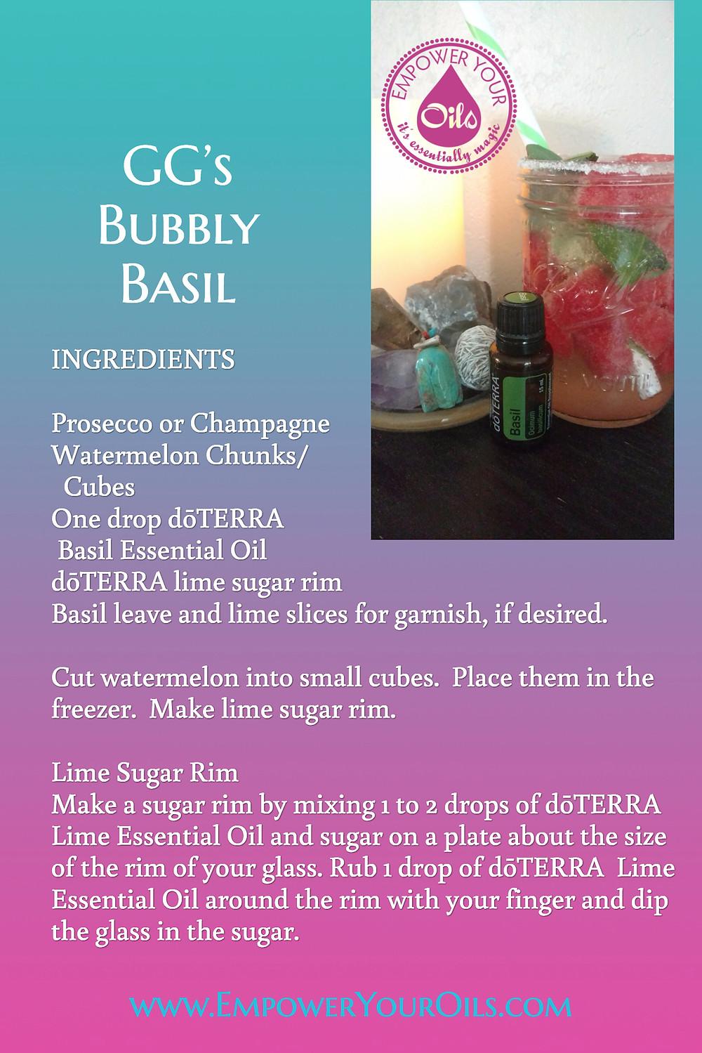 GG's Bubbly Basil