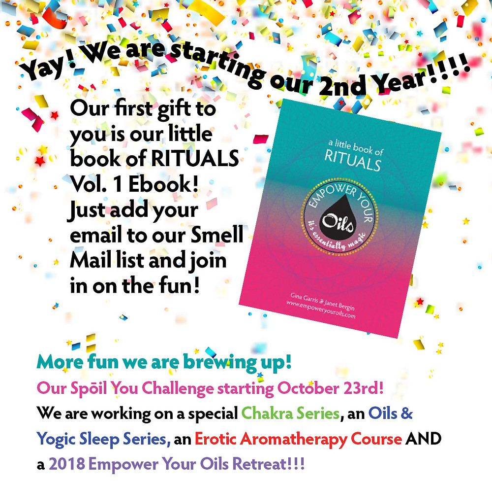 Yay! We are celebrating our 2nd year!