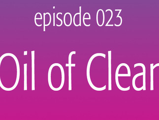 The Oil of Cleansing