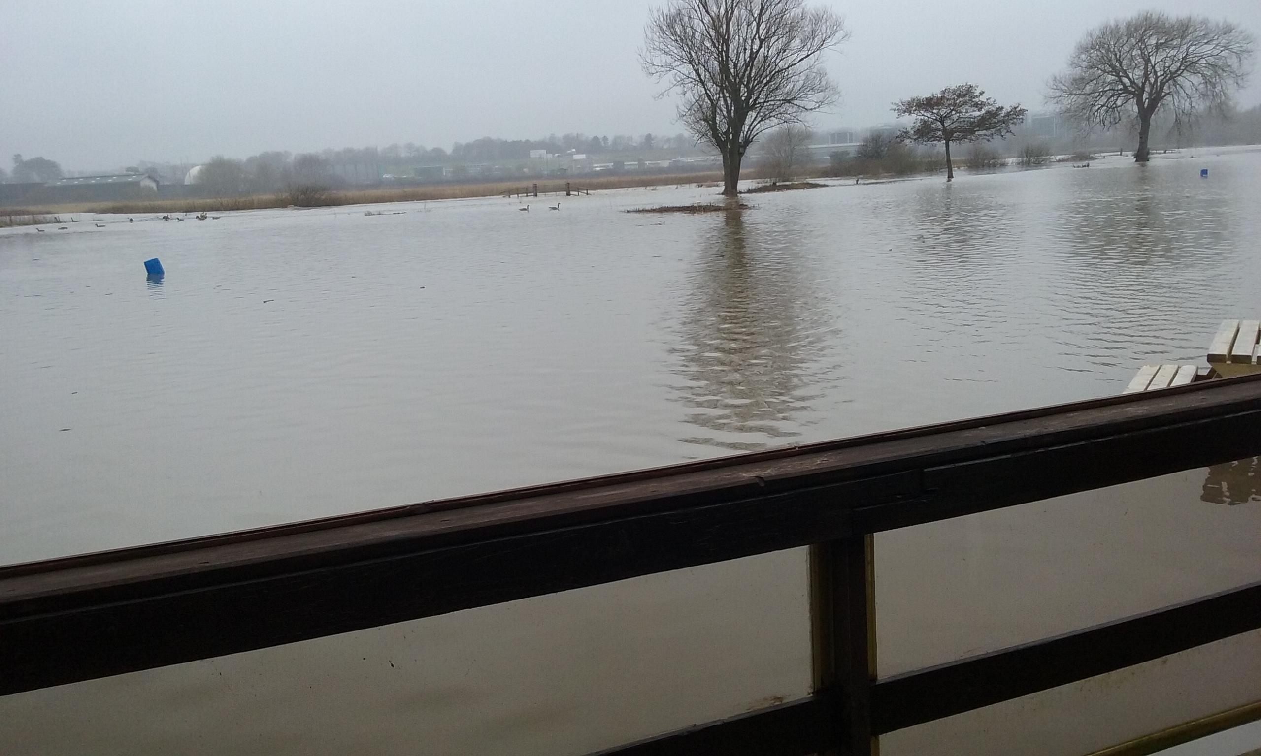 Wanlip Flooded