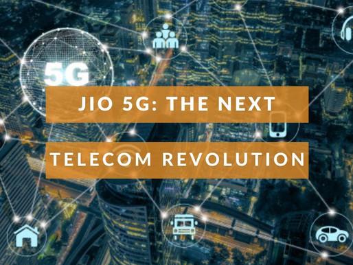 Jio 5G-The Next Telecom Revolution