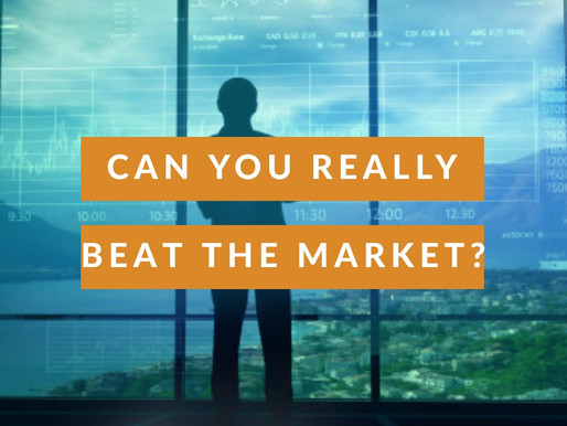 """Can you really beat the market?"""