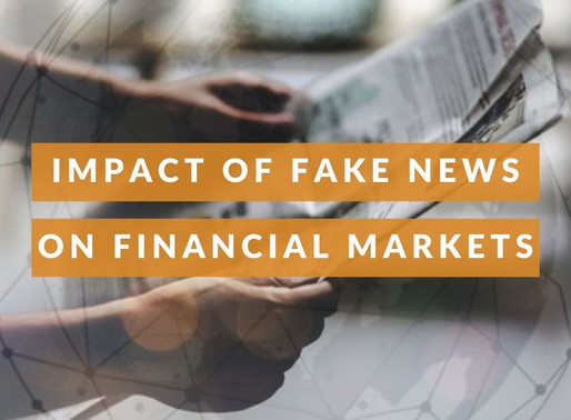 The Impact of Fake News on Financial Markets.