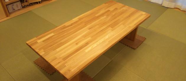 簡単なテーブル作り(皆さんもどうぞDIY可能です)