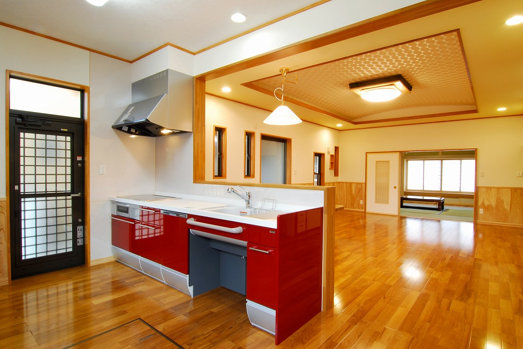 キッチンリビング和室2