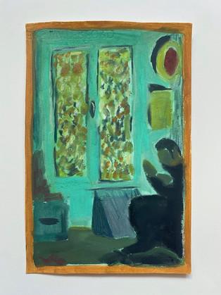 'After Vuillard I' by Katy Papineau
