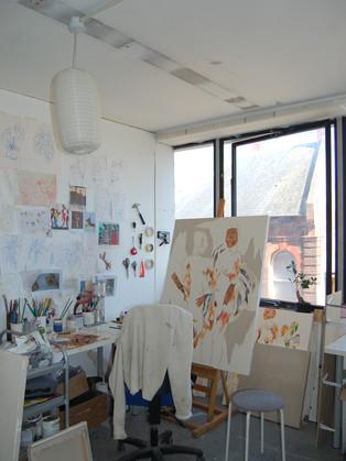 Miranda's studio