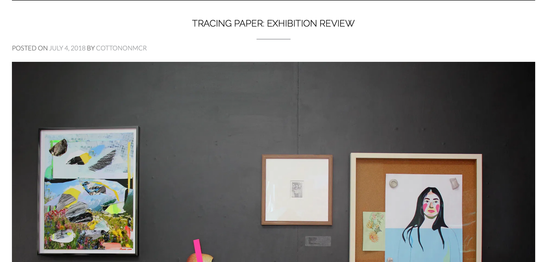 Tracing Paper review by COTTONONMCR