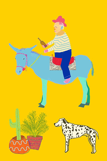 'Picasso Riding His Asso' by Dan Jamieson