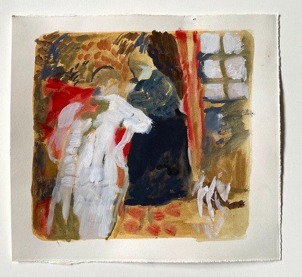 'After Vuillard II' by Katy Papineau