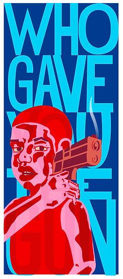 'Who Gave You The Gun' by Liliana A. Romero