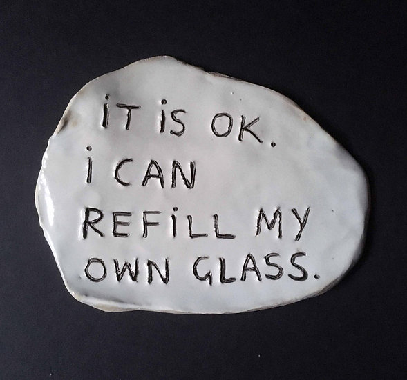 'It is ok. I can refill my own glass.' by Dan Jamieson