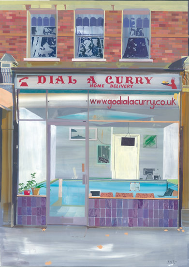 'Dial A Curry' by Kitty Rice