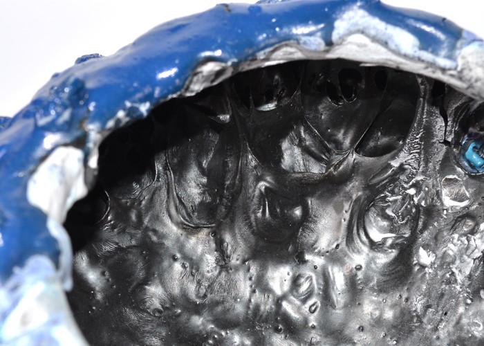 Pam-Space-Dog-Moon-Jar-Blue-White-Inside