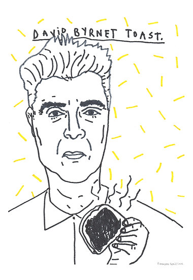 'David Byrnet Toast' by Dan Jamieson