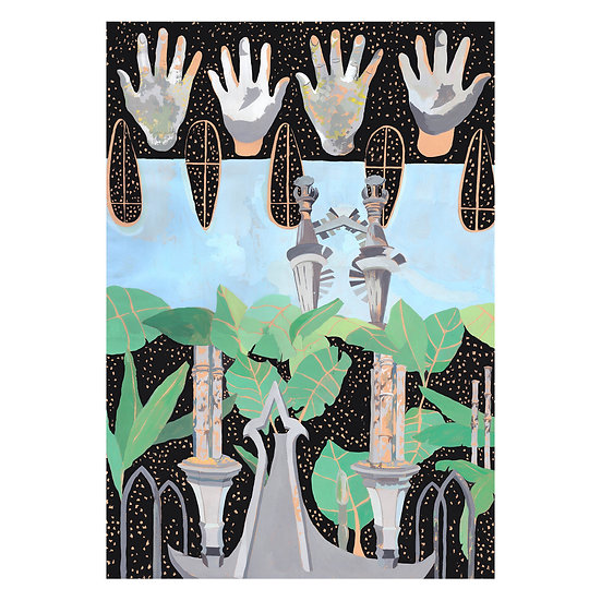 'Xilitla Hands' by Kitty Rice