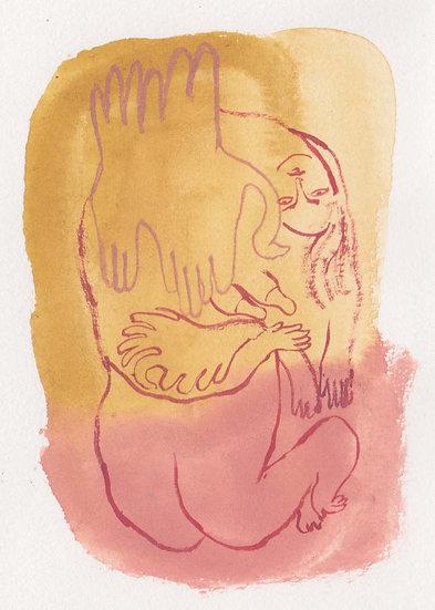 'Two birds' by Jessica Jane Charleston