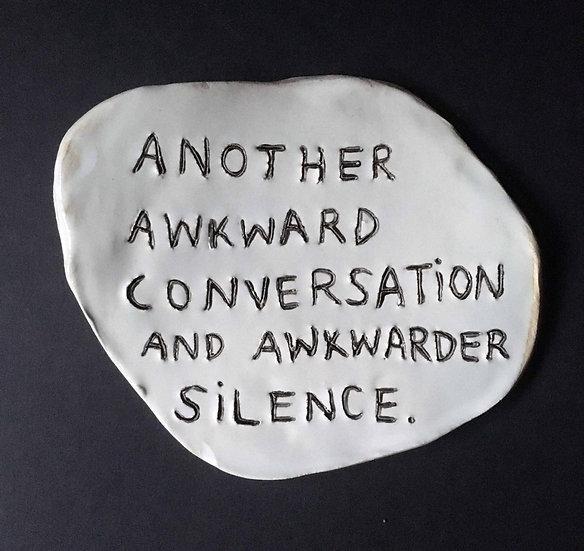 'Another awkward conversation' by Dan Jamieson