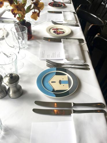 Plate commission for Cultureplex, Manchester