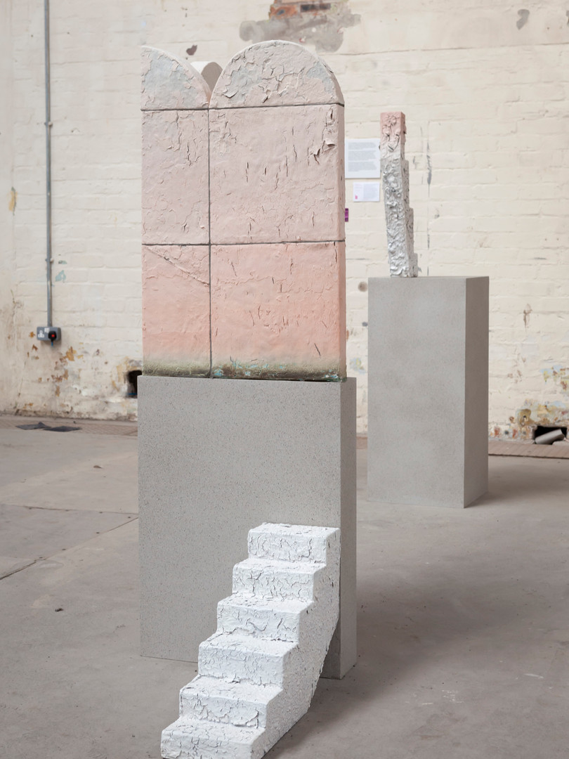 Installation at British Ceramics Biennale