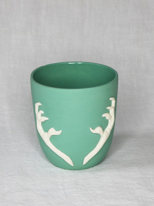 Jade Talons Cup by  Roseanne Connolly