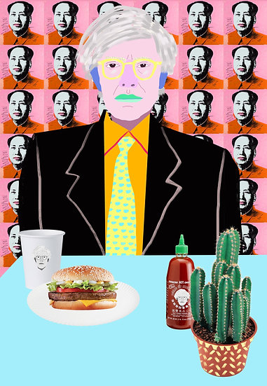 'Warhol Burger, So Hot Right Mao' by Dan Jamieson