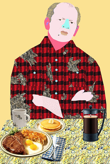 'Jackson's Diner, This Hangover's Pollocks' by Dan Jamieson