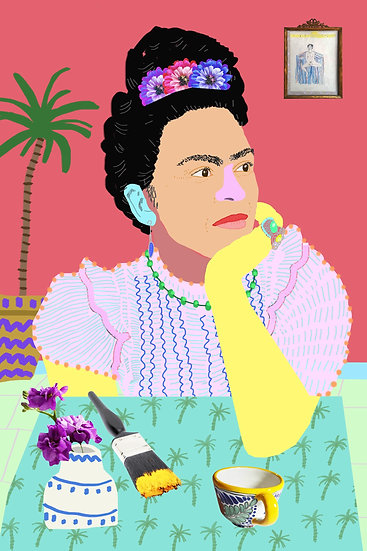 'Frida Thinking' by Dan Jamieson