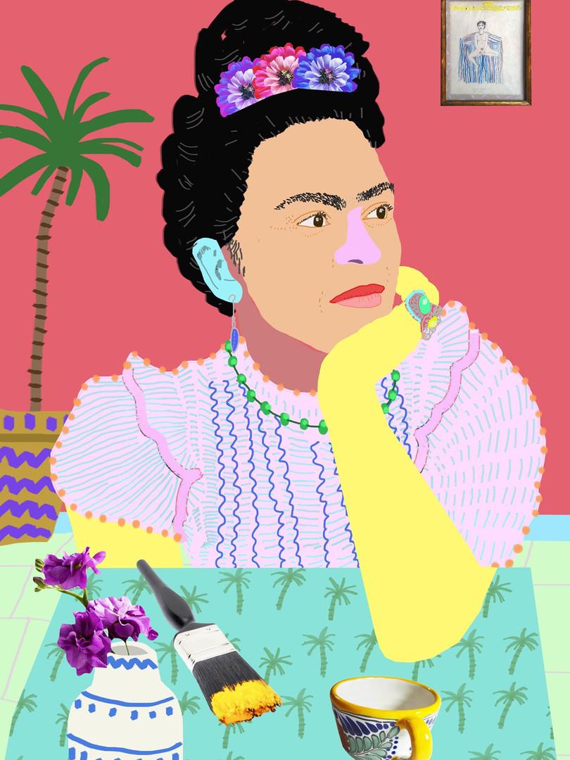 'Frida Thinking'