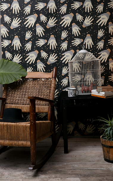 Textile & wallpaper collection by Kitty Rice