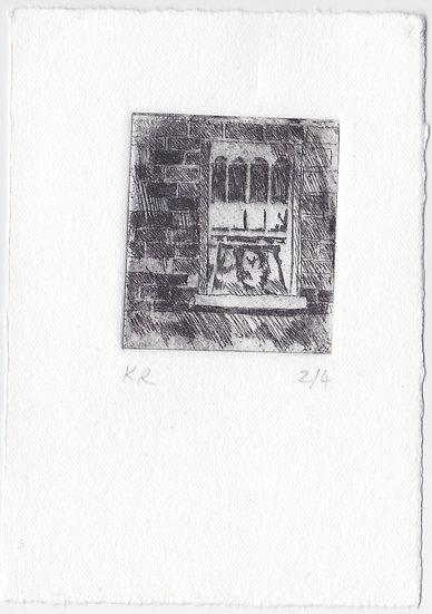 'Lockdown Window' by Kitty Rice
