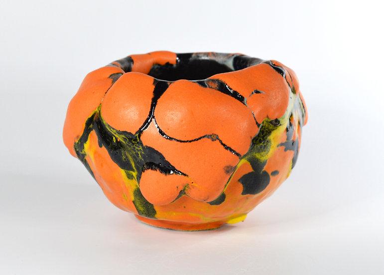 'Orange Black, Moon Jar' by Pam Su