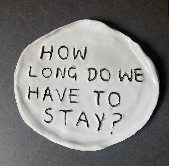 'How long do we have to stay?' by Dan Jamieson