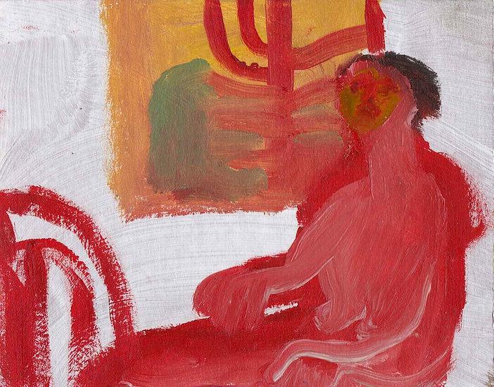 'Woman at Window' by Jessica Jane Charleston