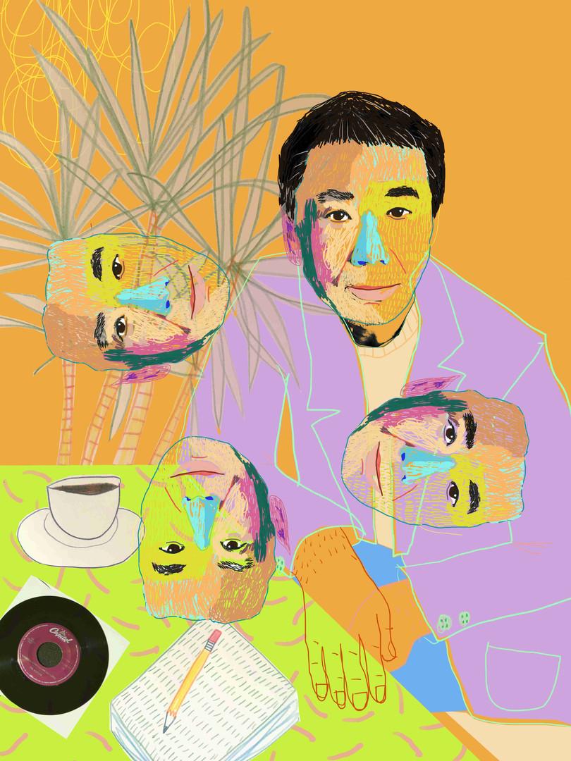 'Murakami Coffee Calmly'