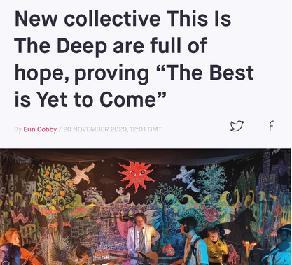 """New Collective This is The Deep ar efull of hpoe, proving """"The Best is Yet to Come'"""