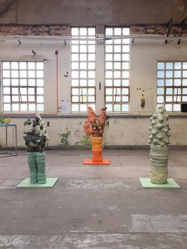 Installation at British Ceramics Biennial 2019