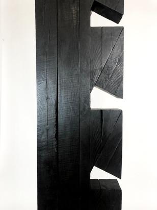 Torr III, Burnt Oak finsihed with wax, 1