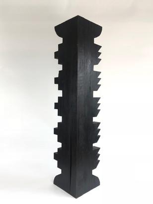 Torr II, Burnt oak finished with wax, 19