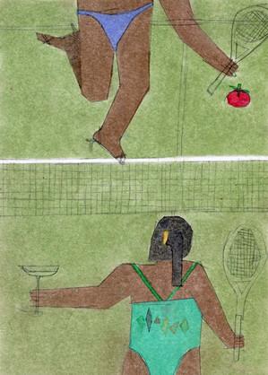 Venus and Serena on their weekend