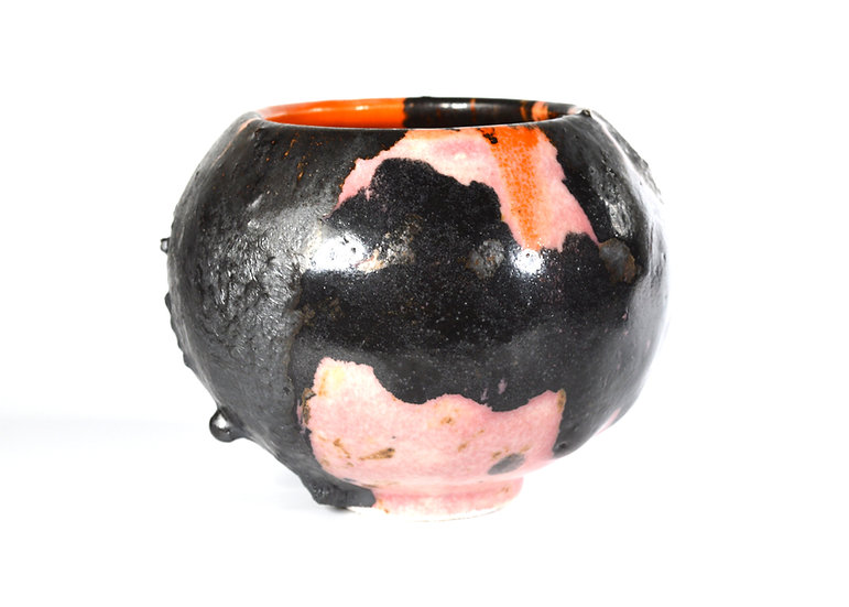 'Pink Orange, Moon Jar' by Pam Su