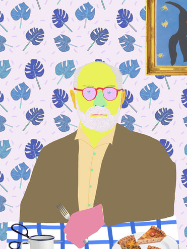 'Quiche Matisse'