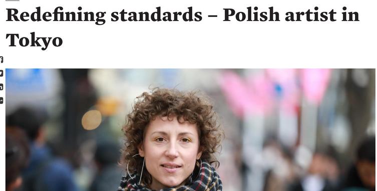 Poland Today - Redefining standards – Polish artist in Tokyo