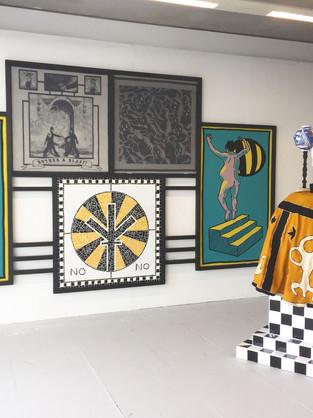 Goldsmiths Degree show installation