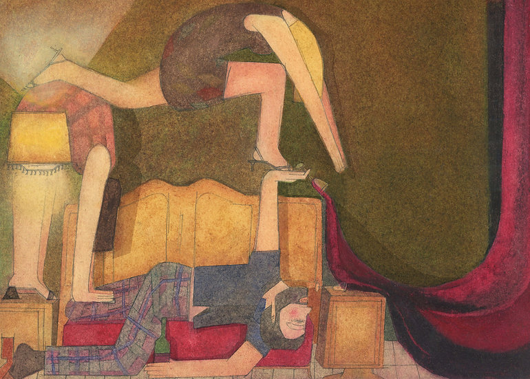 'Part of the Furniture' by Kirsty Lackie