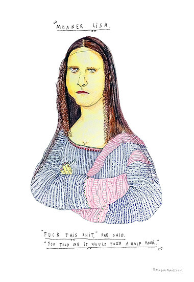 'Moaner Lisa' by Dan Jamieson